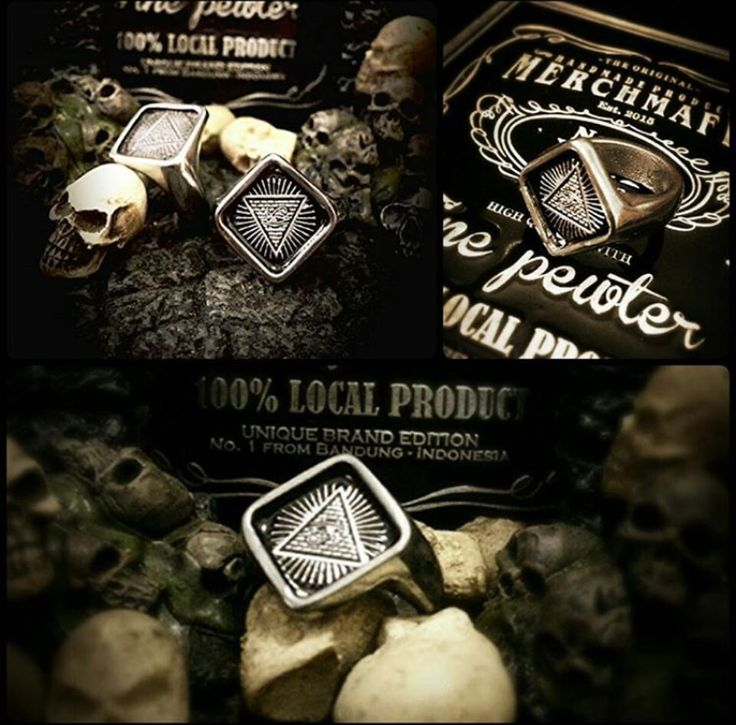 Cahastro Ring Pewter material Ready stock and ready custom