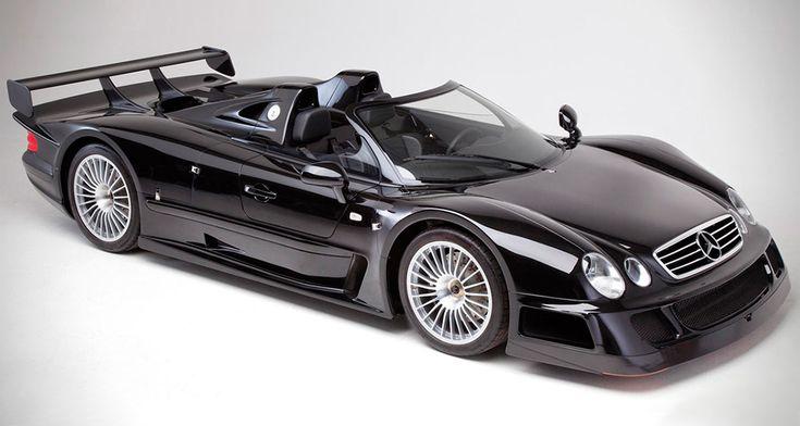 AUCTION BLOCK: 1999 MERCEDES-BENZ CLK GTR ROADSTER