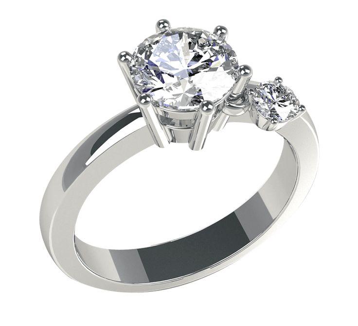NICO JULIANY КОЛЬЦА ДЛЯ ПОМОЛВКИ    Восхитительное золотое кольцо на помолвку. Крупный бриллиант символизирует чистые и светлые чувства, многогранную любовь. Помолвочное кольцо в белом золоте – стильный подарок, благодаря которому предложение руки и сердца будет очень эффектным. Купить золотое кольцо с бриллиантом на помолвку – подарить счастье своей любимой. Посмотрите другие модели колец для помолвки.