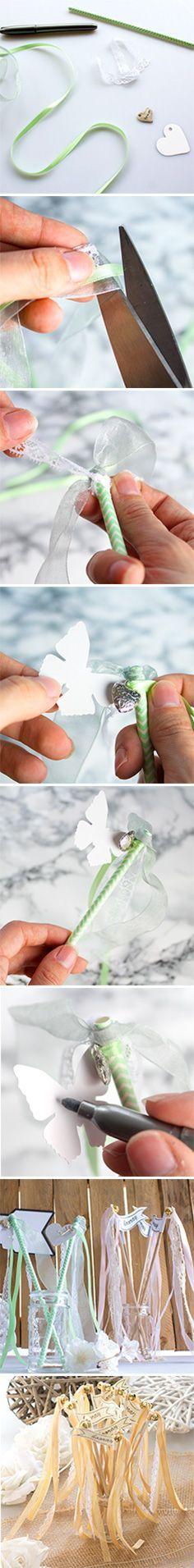Varinhas De Casamento #make #selver #wands #wedding