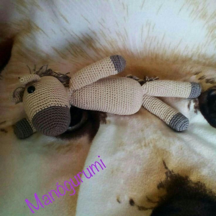 Crochet amigurumi horse