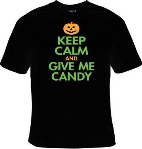 A personal favorite from my Etsy shop https://www.etsy.com/listing/250592415/keep-calm-and-give-me-candy