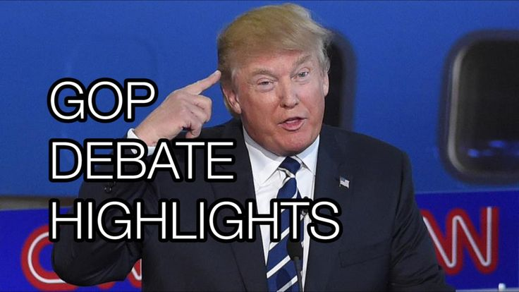 Donald Trump GOP Debate Highlights: Does Every Surprise Emoji Ever #republic #donaldtrump #gopdebate