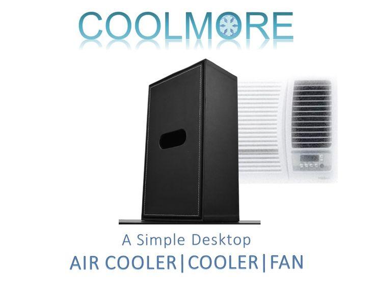 COOLMORE: Desktop Air Cooler - USB-Powered Desktop Air Conditioner