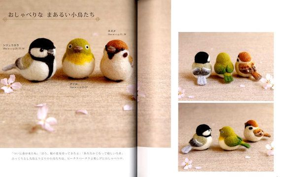 Paperback: 80 pages  Publisher: Magazine Land (2014) by Makiko Arai  Language: Japanese  Book Weight: 235 Grams  The book introduces cute felt wool animals and how to make them.  + Rabbit, Swan, Donkey, Hedgehog, Birds, Mushroom, Squirrel, Cat, Dogs, Sheep, Deer, Polar Bear, Bear, Elephant, and Giraffe.    SHIPPING INFORMATION  The book will be shipped out from JAPAN by Regular AIRMAIL to all over the world. Please allow 1 week for delivery. From my experience, this method is always very…
