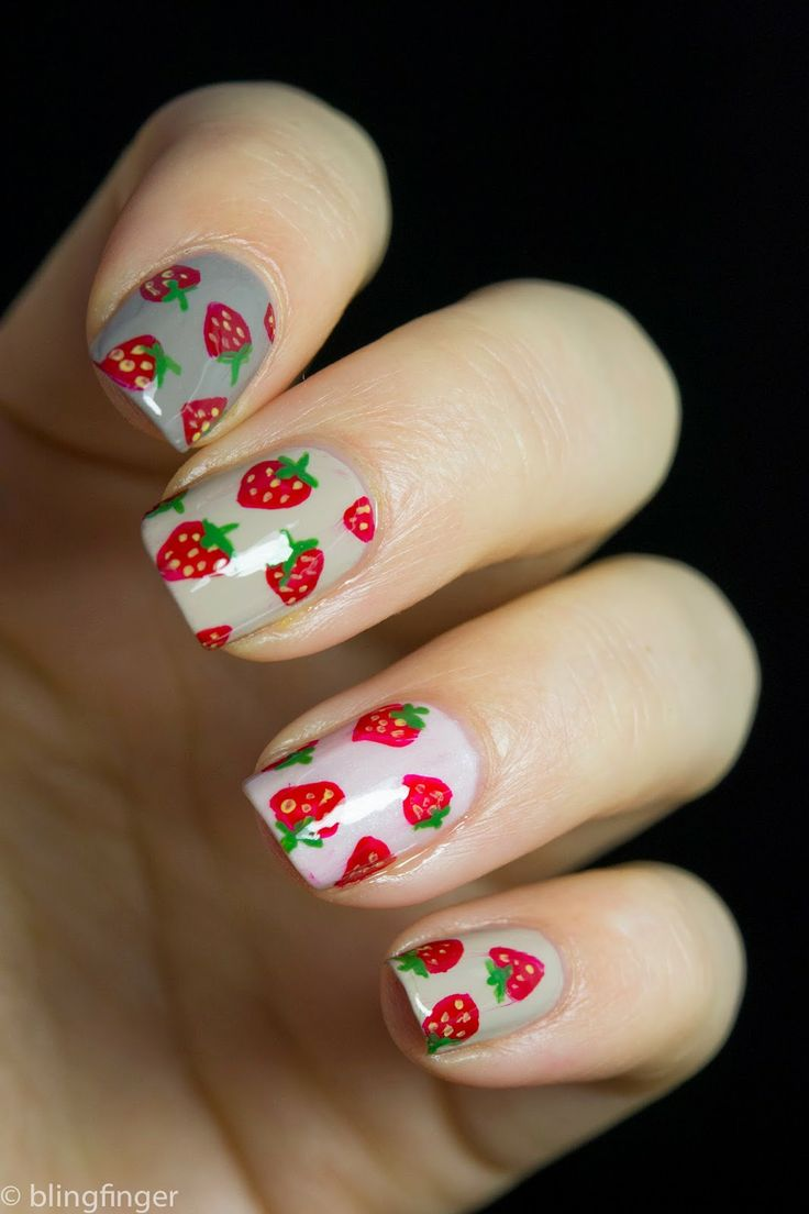 57 Best Images About Naildesign - Food On Pinterest