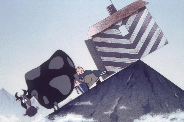 Au Bout du monde de Konstantin Bronzit Récompensé à Annecy, Saint-Pétersbourg, Montréal, New York www.editionsmontparnasse.fr/p937/La-Residence-du-Studio-Folimage-DVD
