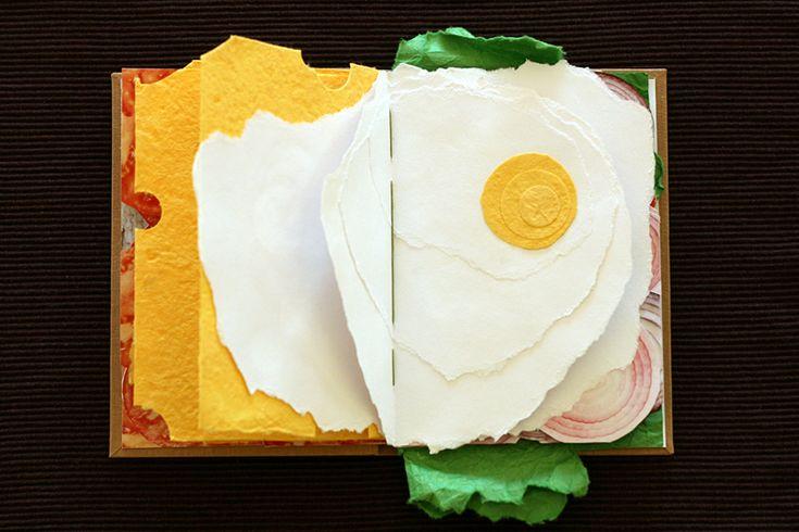 The Sandwich Book paper food books