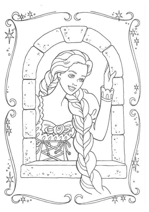 15 best Barbie Coloring Pages