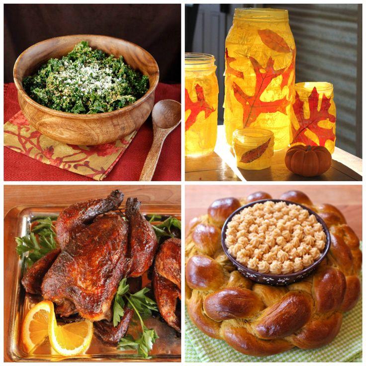 Sukkot Holiday Roundup - Recipes and Crafts