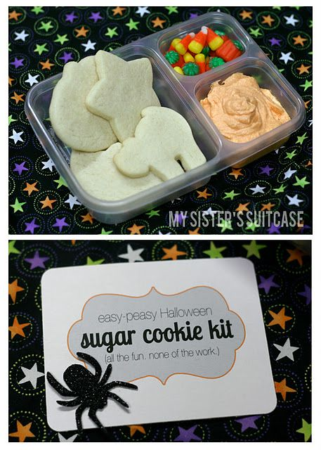 Halloween Sugar Cookie Kit with printable tag: Sugar Cookies, Halloween Sugar, Christmas Cookies, Gifts Ideas, Printable Tags, Cute Ideas, Cookies Kits, Cookies Decor Parties, Great Ideas