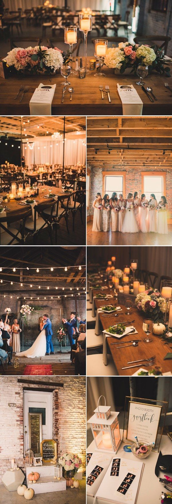 rustic barn industrial wedding theme ideas / http://www.deerpearlflowers.com/industrial-wedding-theme-ideas/