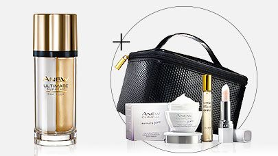 FREE Beauty Gift worth £42 when you buy Anew Ultimate Supreme Dual ElixirThe Ultimate Beauty Set