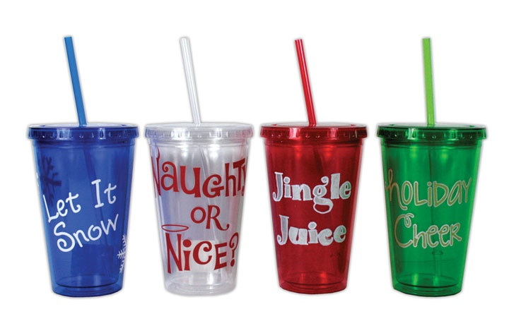 Crafts Direct Christmas Project: Christmas Tumblers