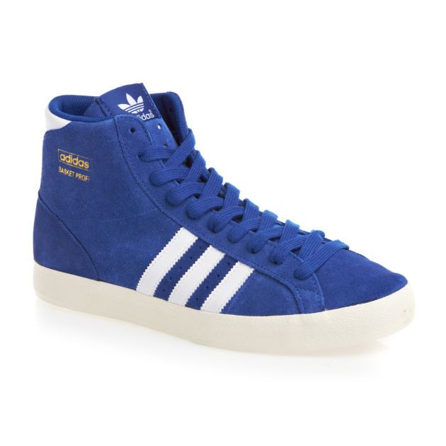 Adidas Originals Mens adidas originals Basket Profi Shoes - True Classic Adidas basket trainers