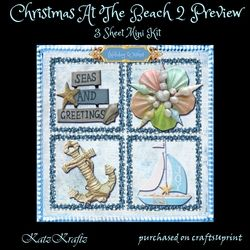 Christmas At The Beach 2 on Craftsuprint - View Now!