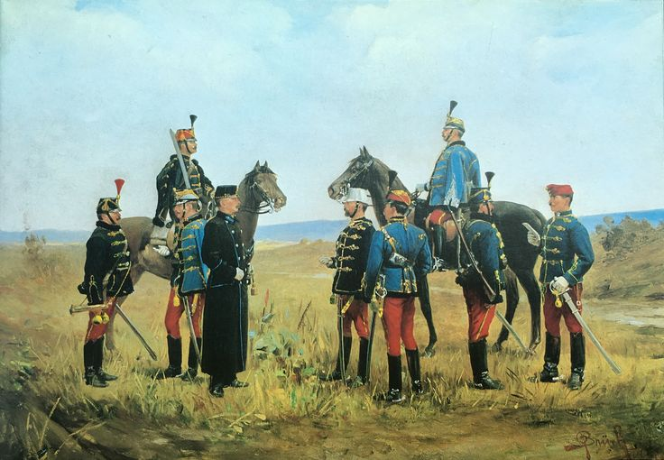 Hussars of the Austro-hungarian army 1895-1914