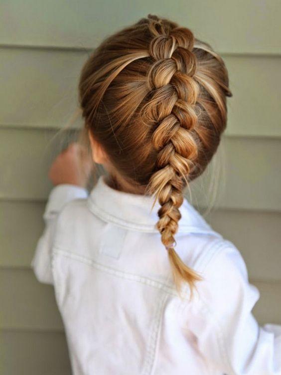 25 Einfache Frisuren Für Kleine Mädchen Die 2 Minuten Oder Weniger