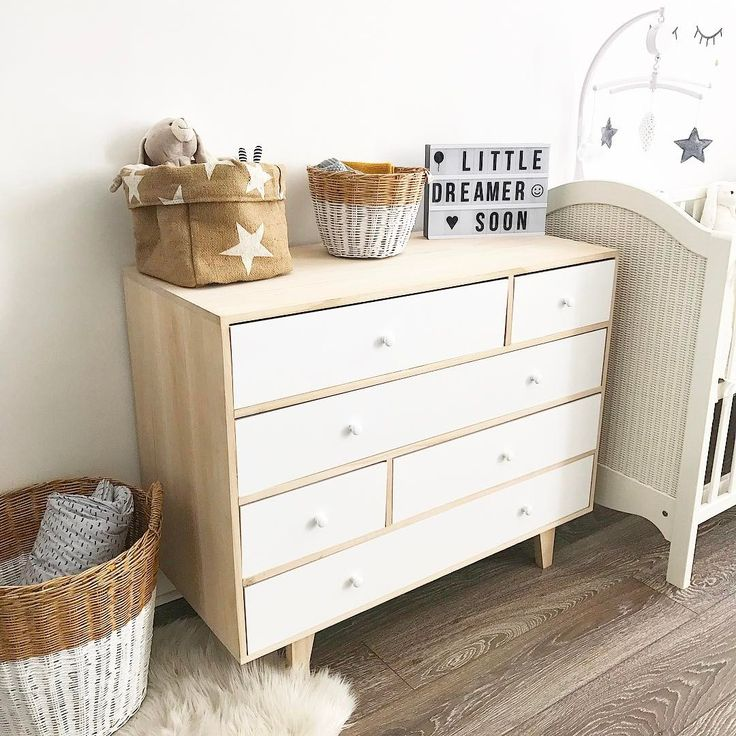 Numero74 baskets, small and large in white!