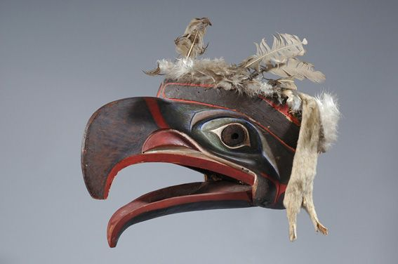 Canada, workshop of the Bellabella, Tlingit or Kwakiutl region, 19th century Donated by Hans Vontobel through the mediation of Regula Brunner, 2007.4 Provenance: George Thornton Emmons Collection; Heye Foundation; art market, Paris