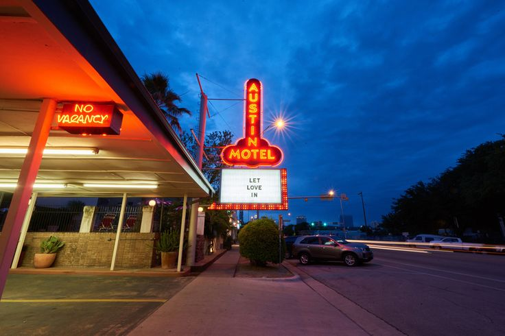 First opening in 1938, the Austin Motel is getting a second life. The exterior preserves its retro motor court appeal with its iconic roadside sign, glowing neons, and a kidney-shaped pool lined with old-school loungers. Although undergoing a complete refresh,...
