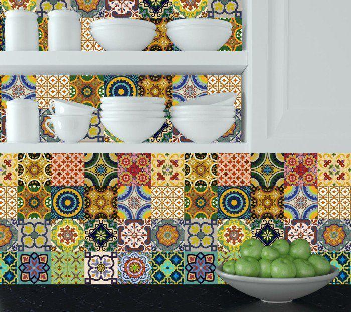 1000 id es sur le th me stickers carrelage sur pinterest carrelage pour cuisine carrelage. Black Bedroom Furniture Sets. Home Design Ideas