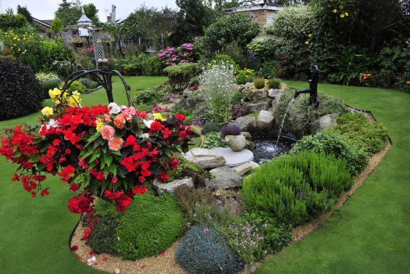 10 best images about jardines de piedra on pinterest for Jardines colgantes para casas