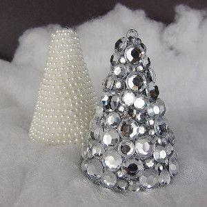 Jeweled Christmas Tree Art