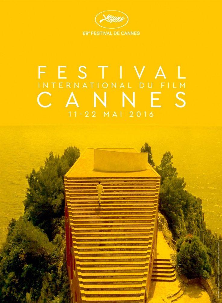 Voici l'affiche du festival de Cannes 2016. - LeBlogTvNews