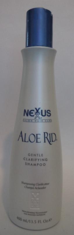 Nexxus Aloe Rid Shampoo Clarifying Removes Buildup Folicle Cleanser Hair 13.5 oz