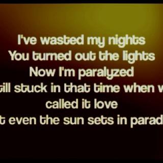 Shades of 45 lyrics