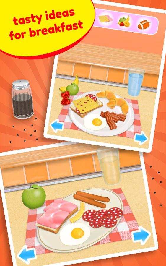 Cooking Breakfast – naučme sa pripravovať raňajky.