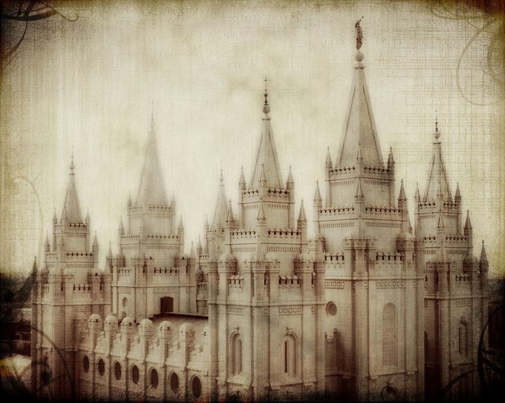 Free for personal use - Temple pictures (SLC, Mesa, Boise)