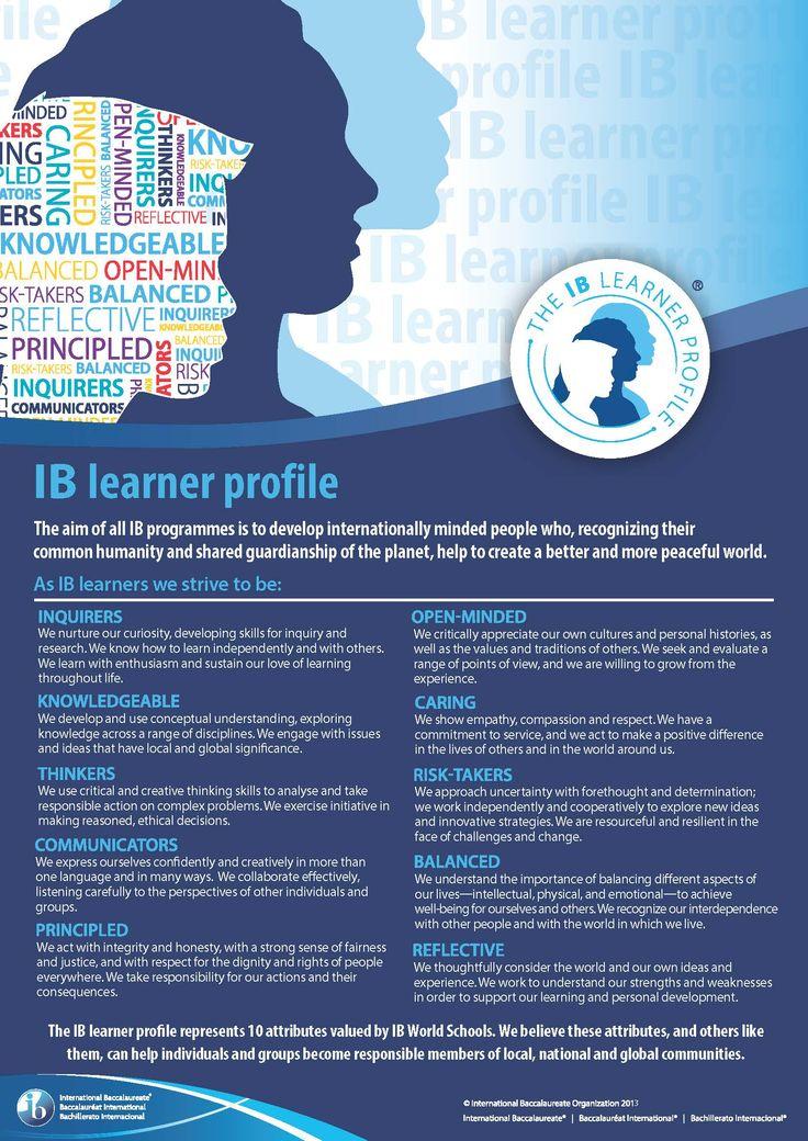 IB learner profile                                                                                                                                                                                 More