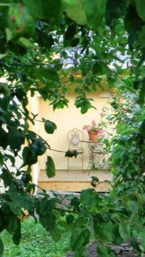 Besøke og mimre om gode dager i Rodeløkka kolonihage