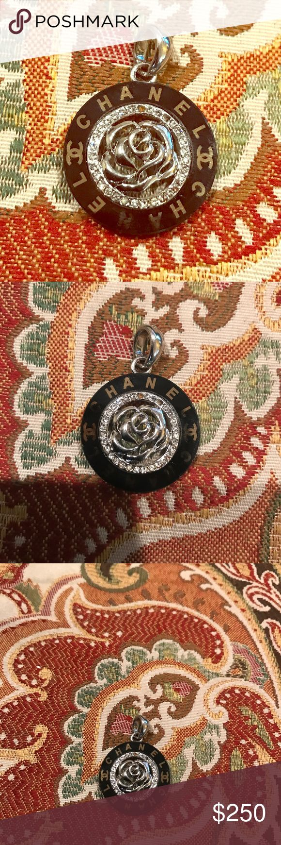 Authentic Chanel Camilla stone pendant Hello I have a authentic Chanel Camilla pendant for sale.This was given to me as a gift.I do not have the chain for it.This is a beautiful piece.I love it to death but do not really have the use for it.Thank you. CHANEL Jewelry Necklaces