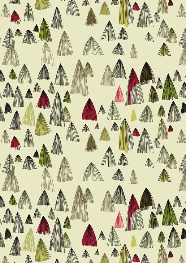 Long Hair Mountains pattern by @Marina Zlochin Molares
