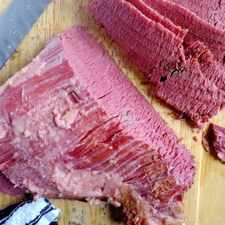 How To Make Corned Beef Brisket At Home | NW Edible