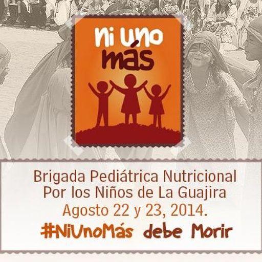 525 niños de La Guajira podrían morir de hambre en los próximos días #NiUnoMas Haz tu aporte.