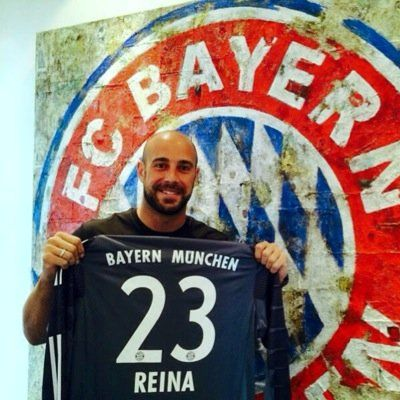 Reina joins Bayern München