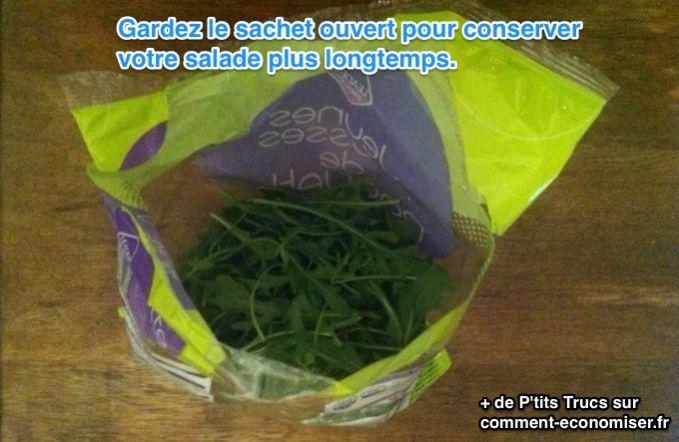 164 best conserver les aliments plus longtemps images on - Comment conserver la salade ...
