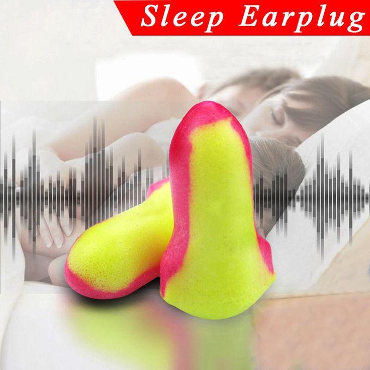 10-Pairs Penyumbat Telinga Busa Lembut Plugs Howard Leight Laser Lite LL-1 NRR32 Mendengkur Tidur Pelindung Telinga BARU