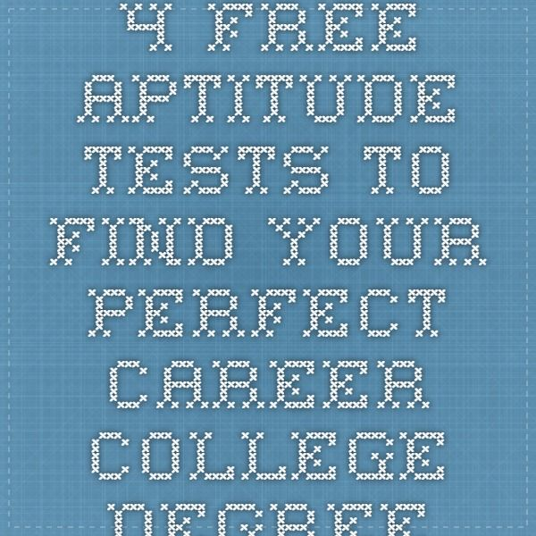 your free career test