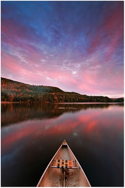 Echo Lake, Camp Plymouth State Park, Vermont.  Photo: Joseph Rossbach via Flickr