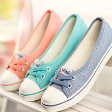 Sapatas das mulheres Ballet Flats sapatos Casuais Respirável Mulheres Flats…