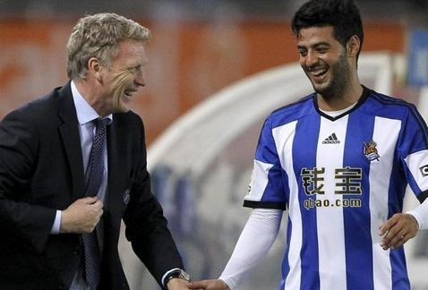 David Moyes' scouting report on Carlos Vela