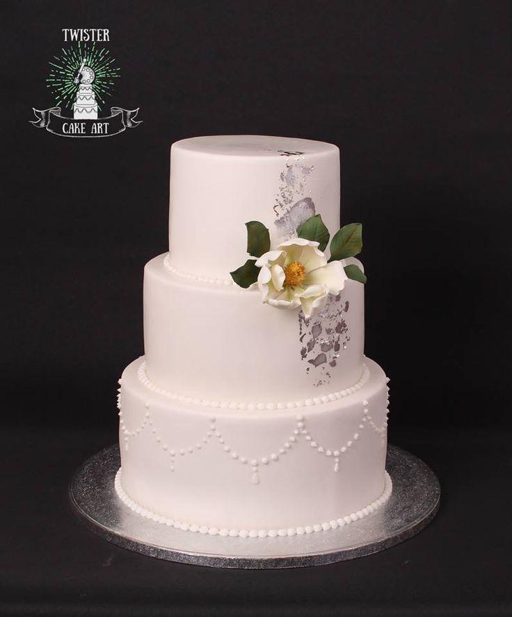 Eleganssi Hääkakku, wedding cake