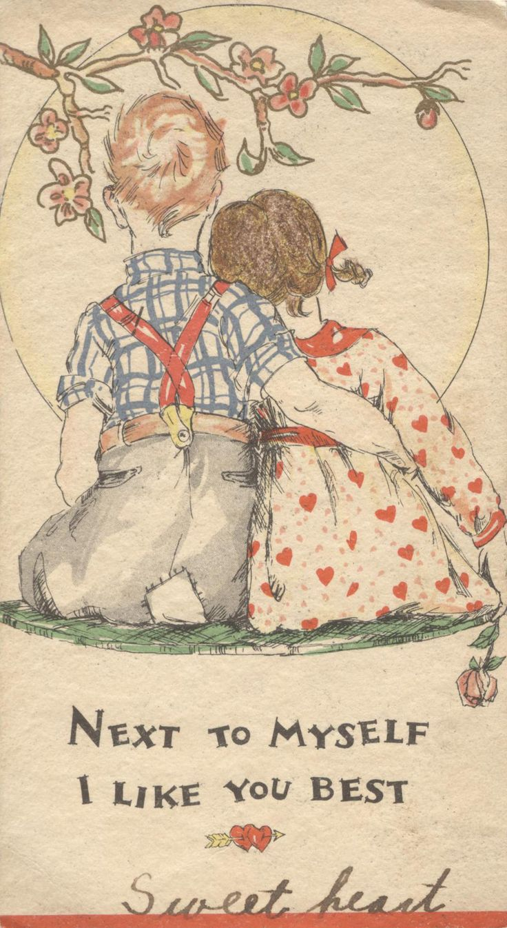1931 -- 10 V 22: Valentine  (on page 51 of The Very Best from Hallmark: Greeting Cards Through the Years by Ellen Stern)