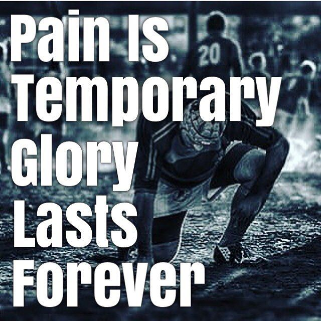 Pain is temporary. Rugby glory lasts forever.  Pic by @junes_b1380