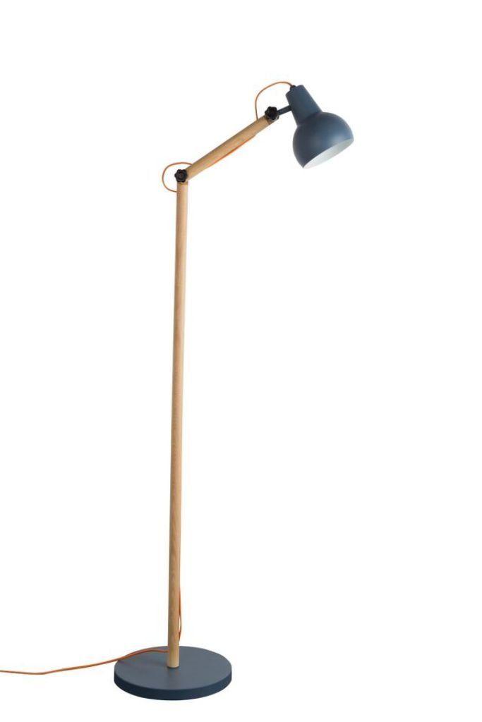 Zuiver Lampa Podłogowa Study Szara 5100034